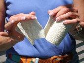 Bandage tearing