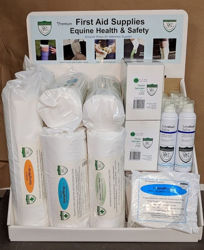 First-Aid Supplies Display