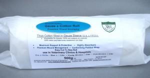Premium Gauze & Cotton Wrap